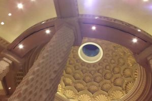 Ceiling in Royal Towers, Atlantis by Writer4Him