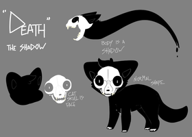 Death R.I.P Reference Sheet [Contest Entry] by QTipps