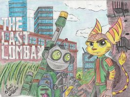 Ratchet and Clank, The Last of Us parody (Color). by Santi-dLeon