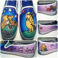 Winnie the Pooh Shoes 2 by hcram5