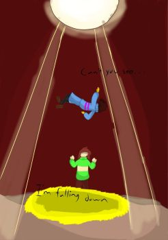 I'm Falling Down by Tearahk