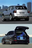 Porshe Cayenne PVT by ftuning