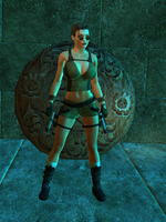Lara Croft 3d 2 by PGandara