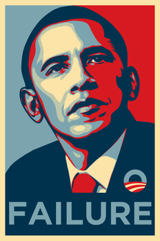Obama Failure by OpPaperStorm