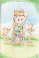 King of Wands by myintermail