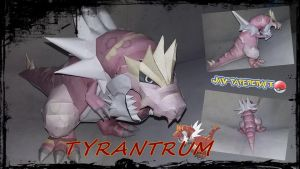 Tyrantrum papercraft download by javierini