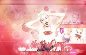 Miley cyrus header. by PartywithDemetria