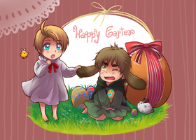 APH - Happy Easter 2010 by Zayrion