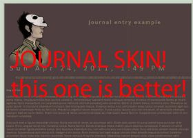 MH: Fixed Jornal skin of tim by Created-by-Monsters