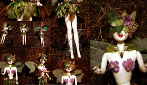 OOAK Fae Nature Goddess Barbie by ValkyrieOfODIN