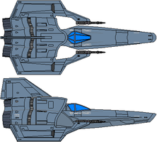 Colonial Viper Mk IV Type A Subdued by Kelso323