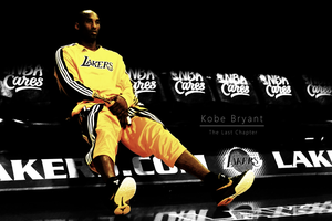 Kobe Bryant -  The Last Chapter by VinceGFX