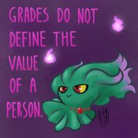 Don't let your grades put you on a bad mood! by KumaMask