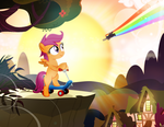 Someday, Scootaloo by PixelKitties