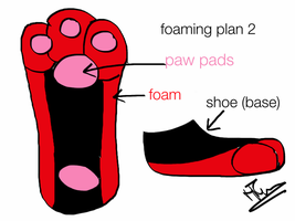 feetpaws foaming plan by IndiTheWolfy
