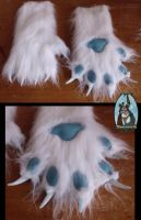 Commission Hand Paws by GerSparky