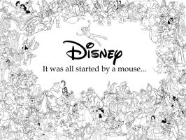 It was all started by a mouse by peachpocket285