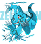 Commission: Zegamon by seiryuuden