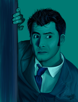 The Doctor and his Tardis by pieMASSACRE