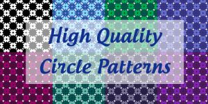 High Quality Circle Pattern Pack by AnaAosPedacos