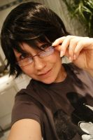 Shinra Drrr - Wig WIP by Deathly-Sora