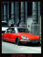 Citroen DS by Heymilie