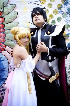 Princess Serenity and Endymion Cosplay by Magic-Alex-Photo
