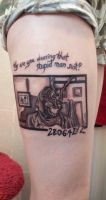 Donnie Darko Tattoo by ChemicalsSavedMe