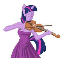 Twilight plays the Violin by ErichGrooms3