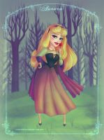 Aurora - Sleeping Beauty by LilaCattis