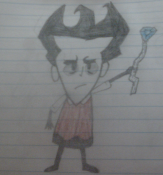Don't Starve Wilson by Bitmask15