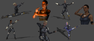JaqCass Pose Pack1 by CombatClone