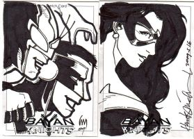 BAYAN KNIGHTS SKETCHCARDS by astigingboyipis
