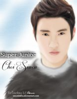 [Fan Art] Super Junior Choi Siwon by aeundaira