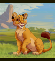 Lion The Lion Cub by The-Hare