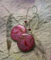 Fairy Garden earrings by BeautySpotCrafts