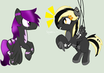 Look I Can Fly Too  MLP OC Collab by Kiteen