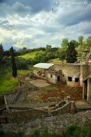Beautiful Pompeii by Hestefotograf