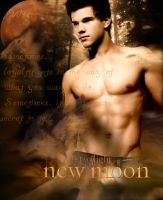 New Moon, Jacob Black by TrinitysDesire