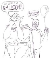We Stole A Balloon by LE2