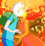 Adventure Time: Burning Low by ichan-desu