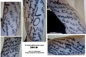 To Write Love On Her Arms 2010 by Sammyton