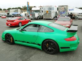 Green GT3RS 4S Ferrari SS by Partywave