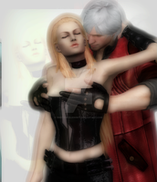The Hunter's Wife,Dante x Trish by DanteDevilKnight