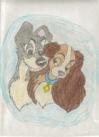 Lady and the Tramp by peterpandagirl