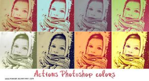 Actions Photoshop colors by ASHOOR