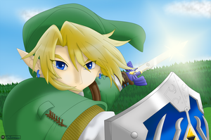 Link the hero of light by TvSonic