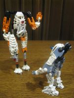 MOC Portal 2 ATLAS and P-body by DjPavlusha