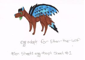 Egg adopt for Ethan-the-wolf by XTwilight-SerenityX