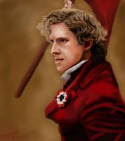 Enjolras by Angelchatter